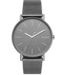 relógio skagen signatur skw6549/1cn masculino