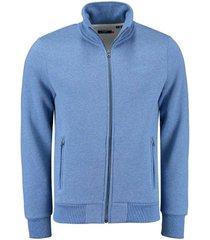 vest classic blauw