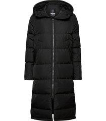 biella w coat gevoerde lange jas zwart 8848 altitude