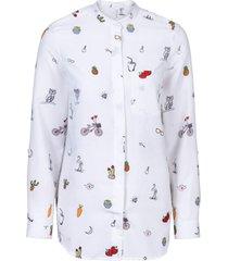 camicia (bianco) - rainbow