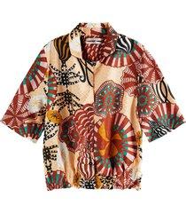 hawaii shirt in printed