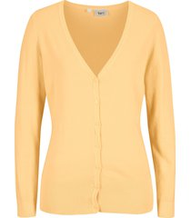 cardigan (giallo) - bpc bonprix collection