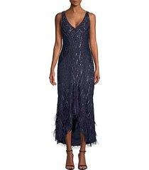 embellished sequin sydney midi dress