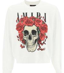 amiri grateful dead skull sweatshirt