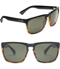 electric knoxville xl 61mm sunglasses in darkside tort/grey at nordstrom