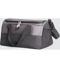 maletin deportivo color gris, talla uni