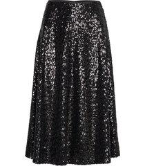 henny skirt 11344 knälång kjol svart samsøe samsøe