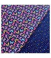 porta tiaras-corujitas borboleta marinho