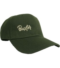gorra verde buxter cap classic