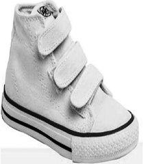 zapatilla blanca blitz lona