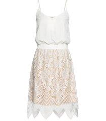 abito con pizzo (bianco) - bodyflirt boutique