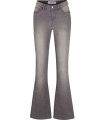 jeans elasticizzati comfort bootcut (grigio) - john baner jeanswear