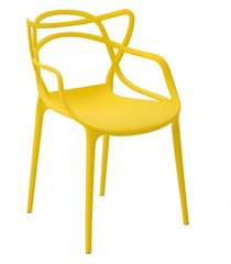 cadeira allegra amarela rivatti móveis