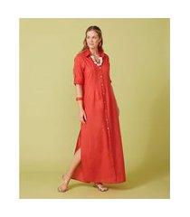 camisão feminino -camisão penelope cor: laranja - tamanho: p