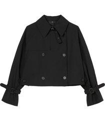 outdoor trench coat