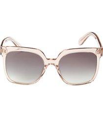 55mm gradient square sunglasses