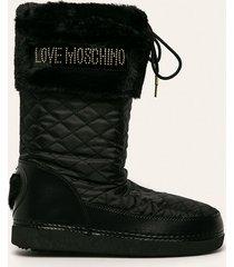 love moschino - śniegowce