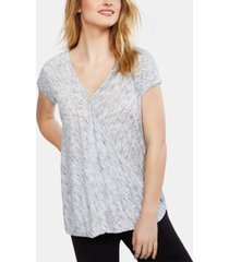 motherhood maternity wrap nursing top