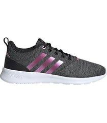 zapatillas training adidas qt racer mujer 5 21597 gris