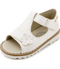 sandalia blanca toot fiorella