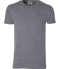 tommy jeans t-shirt - modern fit - grijs