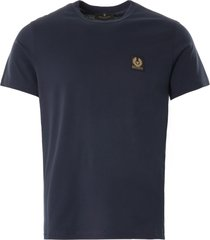 belstaff short-sleeved t-shirt   dark ink   71140305-80092