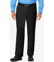 j.m. haggar men's luxury comfort classic-fit performance stretch dress pants