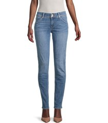 hudson women's collin mid-rise skinny jeans - sequl - size 24 (0)