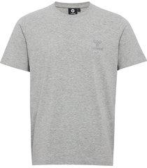 hmlsigge t-shirt s/s t-shirts short-sleeved grå hummel
