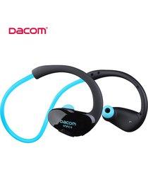 audífonos bluetooth manos libres inalámbricos, dacom g05 atleta audifonos bluetooth manos libres  inalámbrico corriendo auriculares estéreo con micrófono (azul)