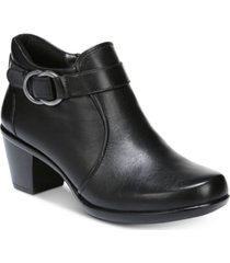 naturalizer elisa leather booties women's shoes