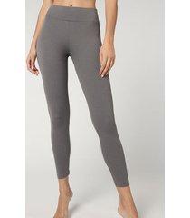 calzedonia active leggings woman grey size m