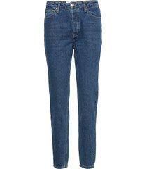 hepburn hw mom wash bright orlando jeans mom jeans blå tomorrow