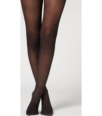 calzedonia 30 denier total comfort soft touch tights woman black size xl