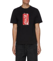 'soda' pixelated 3d graphic cotton t-shirt
