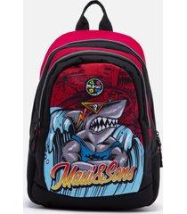 mochila escolar rojo maui and sons