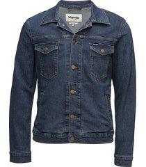 regular jacket jeansjack denimjack blauw wrangler