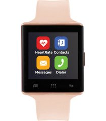itouch air 2 smartwatch 41mm rose gold case with blush strap
