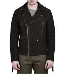 crwth men's iron horse biker jacket
