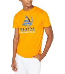 nautica men's big & tall keep calm & carry on graphic t-shirt