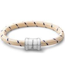 men's miansai barrel casing nylon woven bracelet
