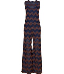m missoni jumpsuit jumpsuit blå m missoni