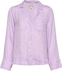 dreamwell satin shirt top lila gap