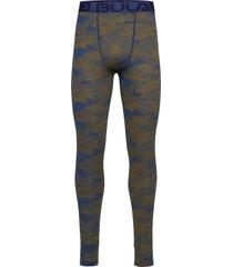 camo merino wool pants base layer bottoms blå bula