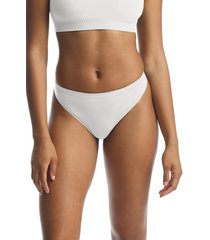 commando minimalist thong, size medium in white at nordstrom