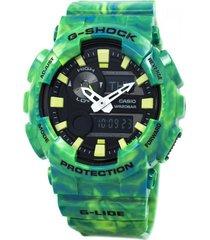 reloj g shock gax_100mb_3a verde resina