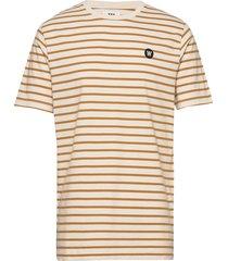 ace t-shirt t-shirts short-sleeved multi/mönstrad wood wood