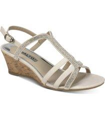 rialto cranny dress wedge sandals women's shoes
