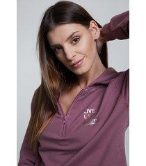 bluza hoodie ig rose brown