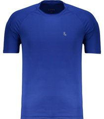 camiseta lupo basic logo azul royal